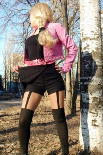 KELLY heisse Blondine